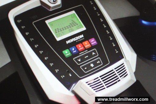 horizon t101 treadmill workout stats